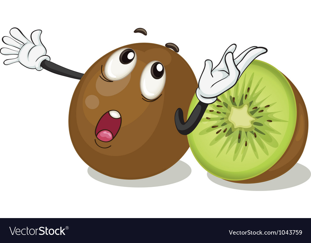 Kiwifruits vector | Price: 1 Credit (USD $1)