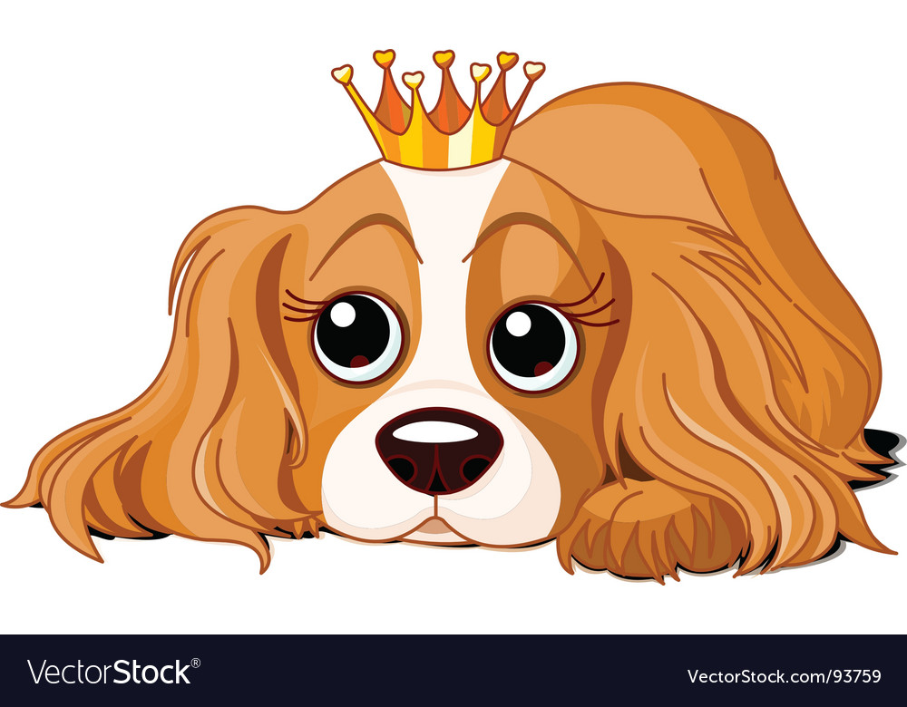 Royalty dog vector | Price: 1 Credit (USD $1)