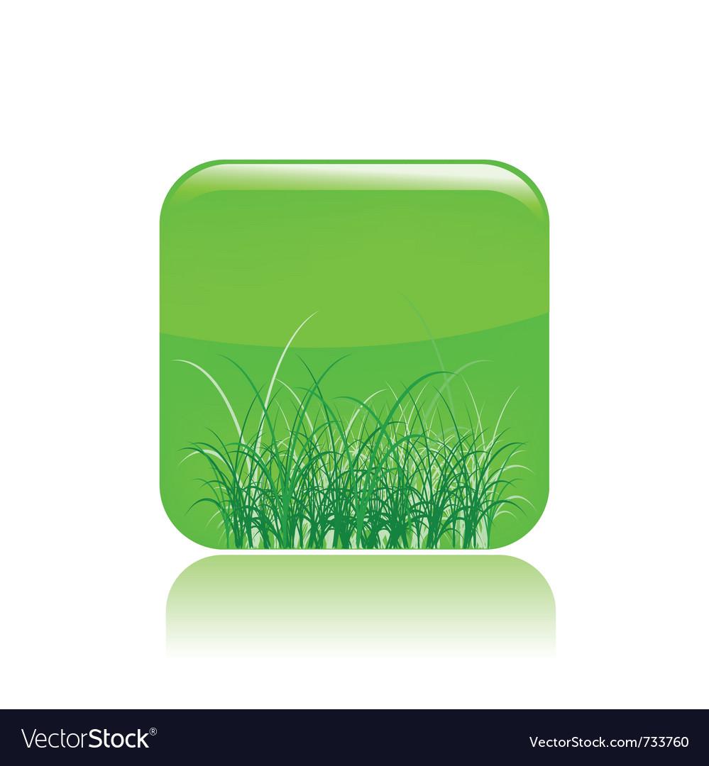 Grass icon vector   Price: 1 Credit (USD $1)
