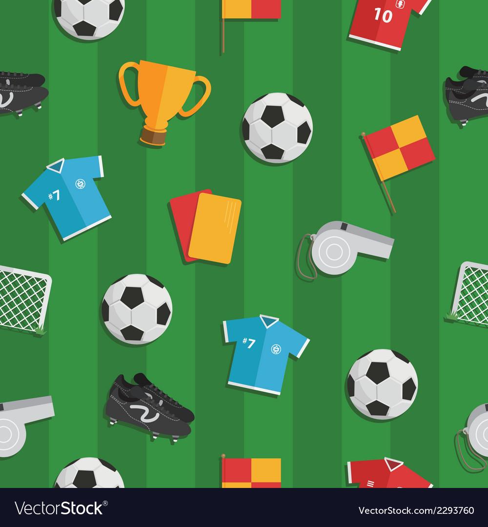 Soccer pattern vector | Price: 1 Credit (USD $1)