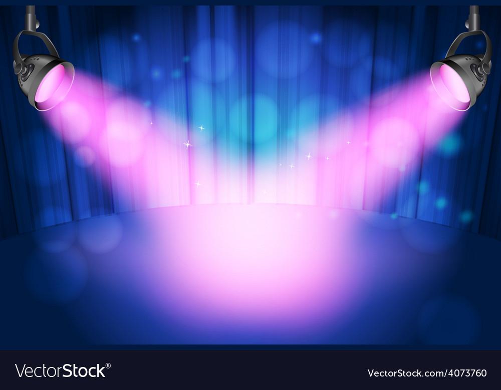 Theatre spot lights vector   Price: 1 Credit (USD $1)