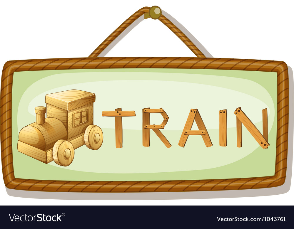 Board and rail engine vector | Price: 3 Credit (USD $3)