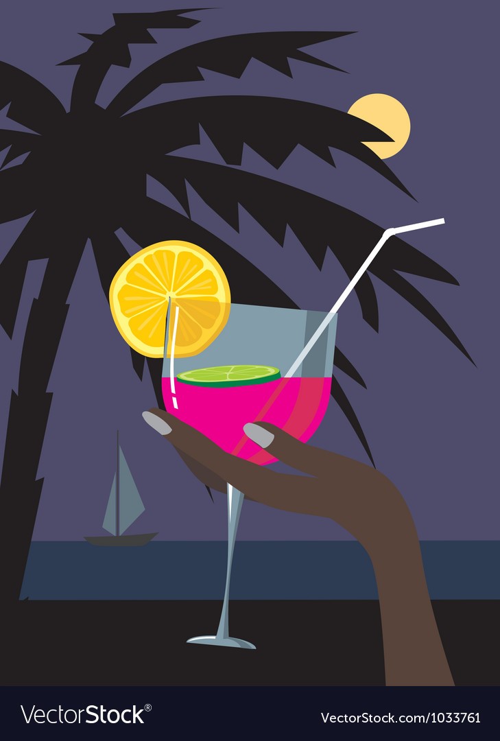Cocktail002 vector | Price: 1 Credit (USD $1)