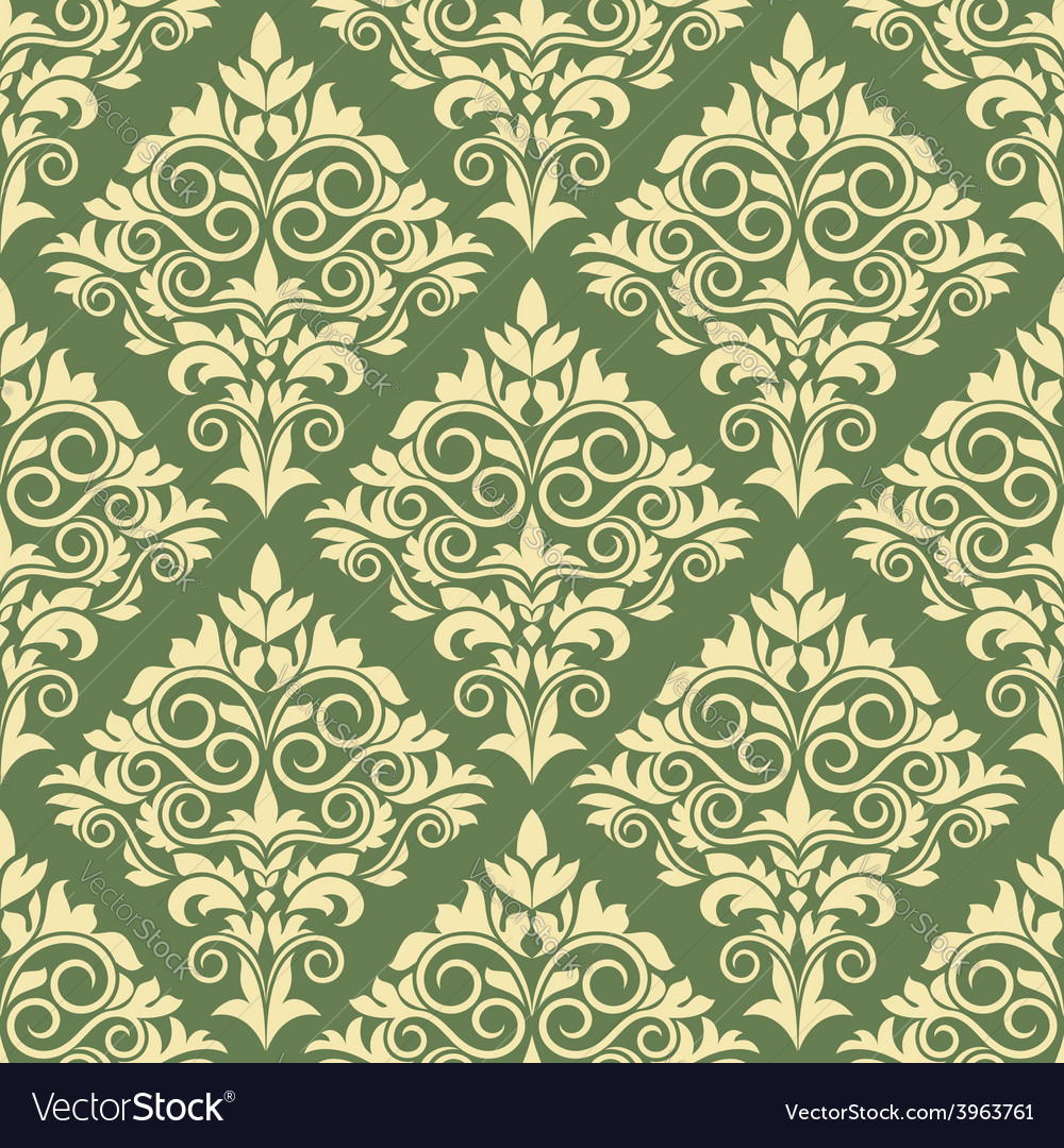 Gothic floral seamless pattern vector   Price: 1 Credit (USD $1)