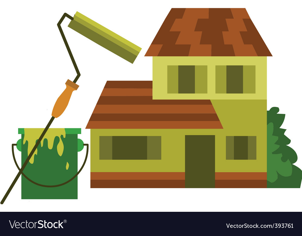 House and renovation vector | Price: 1 Credit (USD $1)