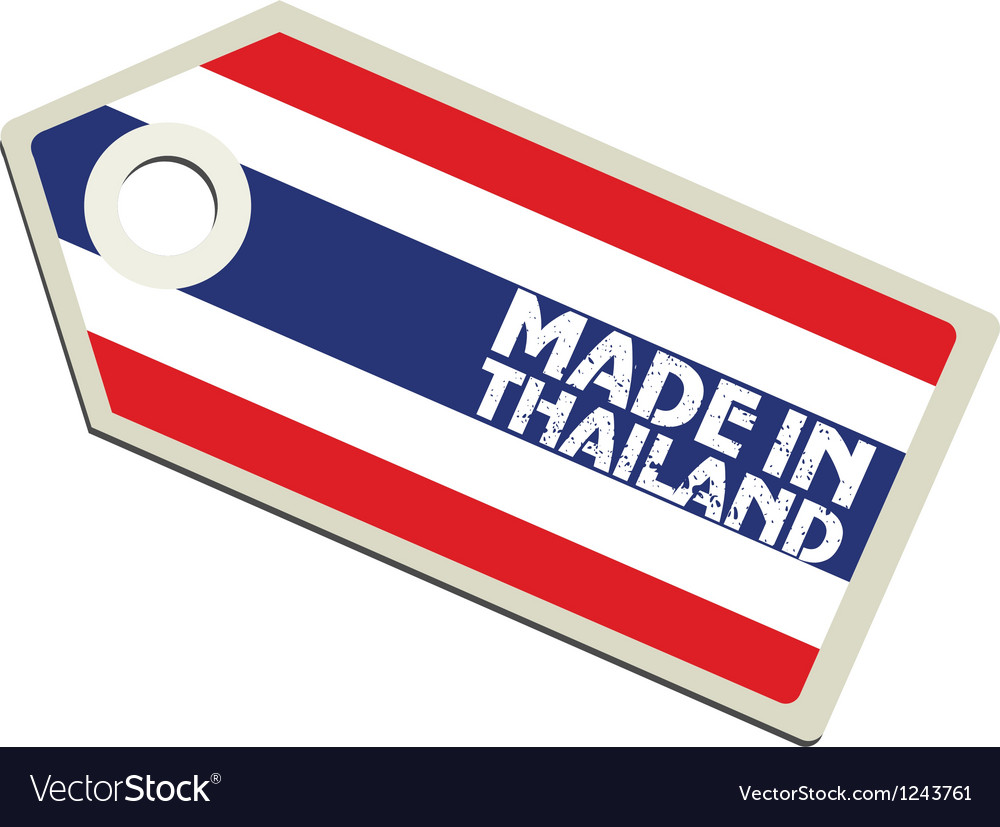 Made in thailand vector | Price: 1 Credit (USD $1)