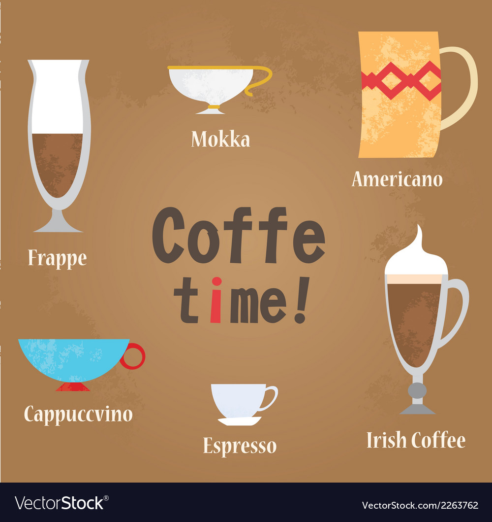 Coffe cups vector | Price: 1 Credit (USD $1)