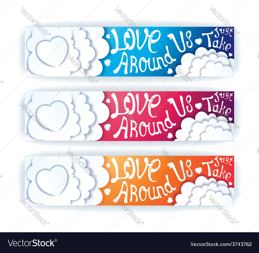 Love around us vector | Price: 1 Credit (USD $1)