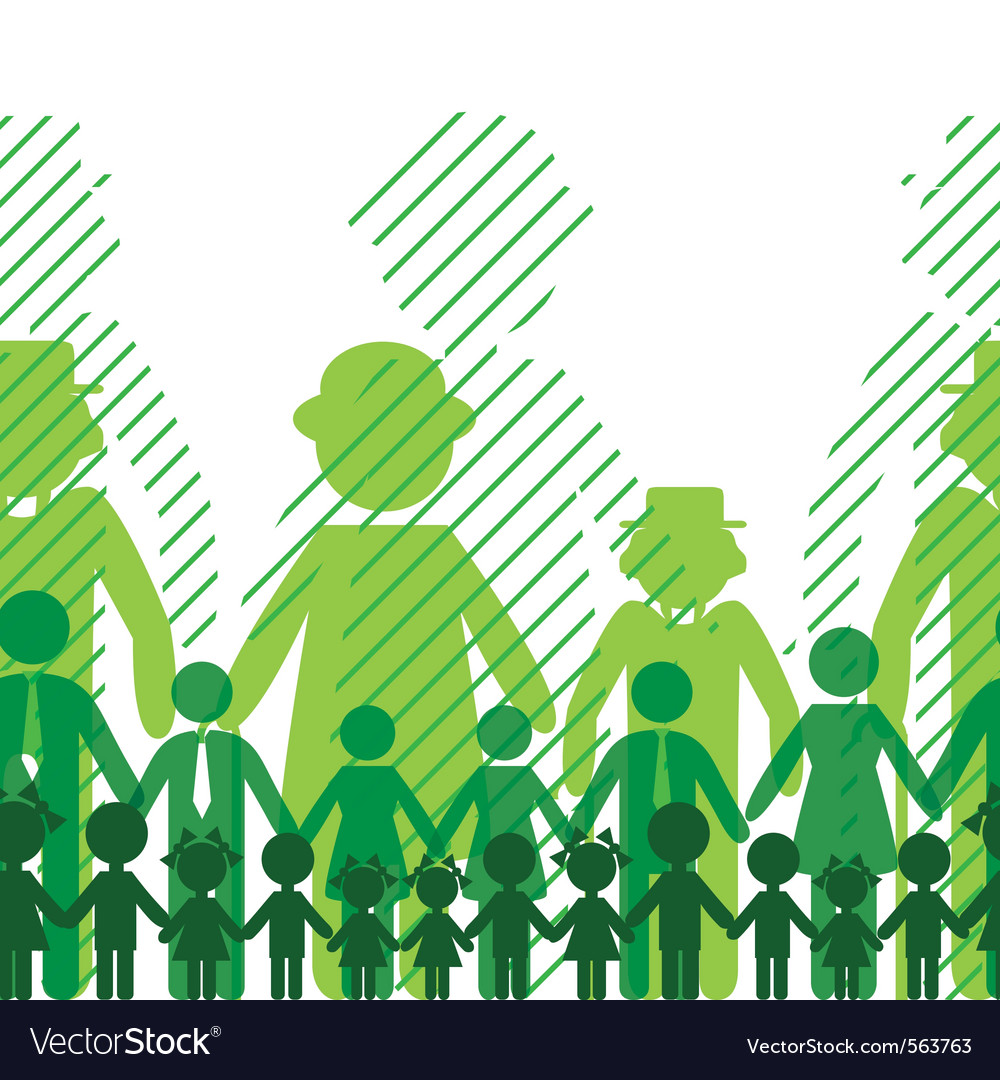 Ecology icon family background vector   Price: 1 Credit (USD $1)