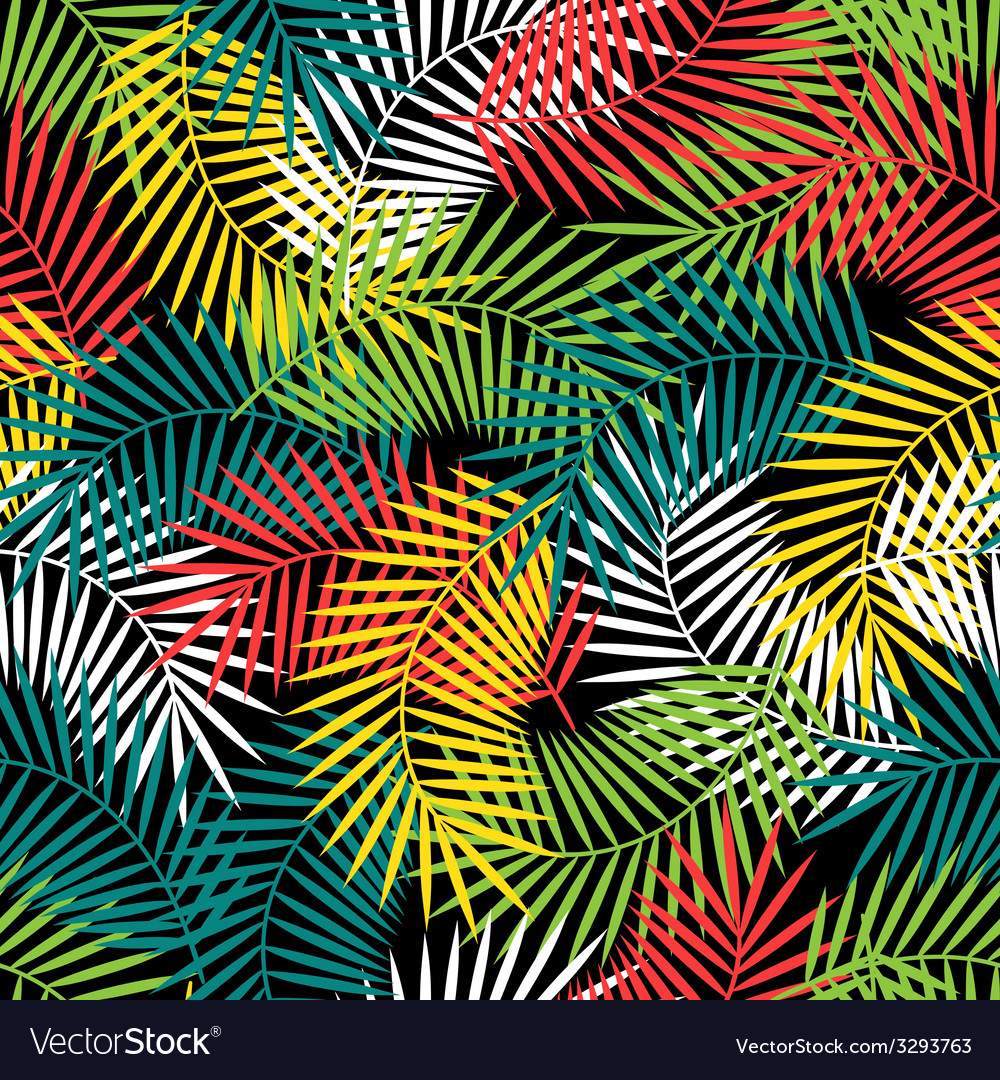 Seamless tropical pattern with stylized coconut vector | Price: 1 Credit (USD $1)