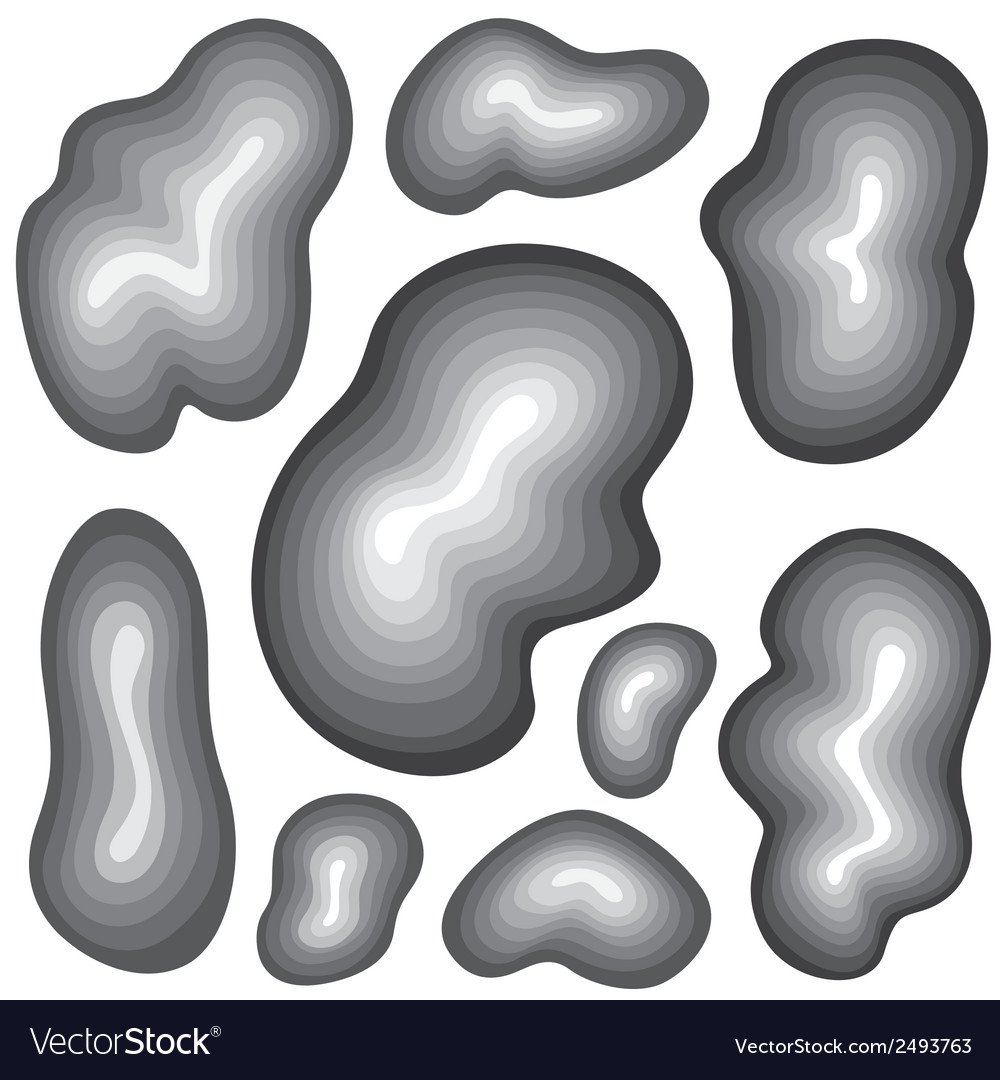 Waves abstract design elements vector | Price: 1 Credit (USD $1)