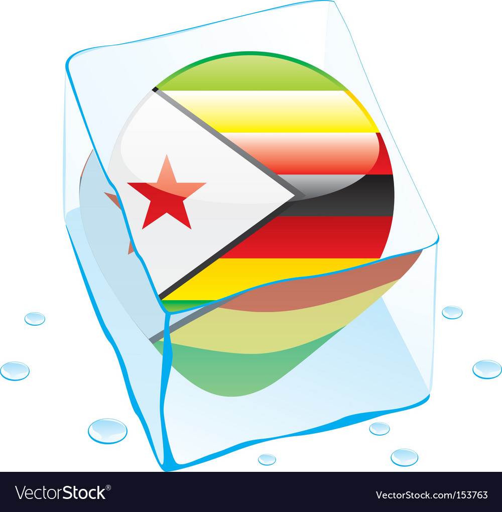 Zimbabwe flag vector | Price: 1 Credit (USD $1)