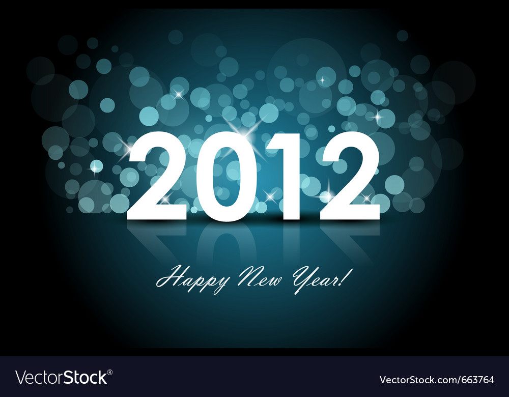 2012 background vector | Price: 1 Credit (USD $1)