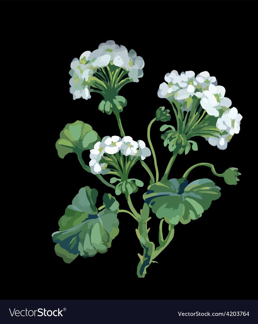 Artistic flower design vector | Price: 3 Credit (USD $3)