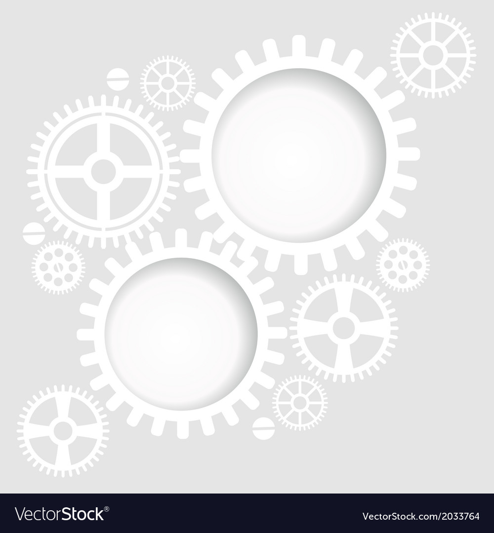 Gear and cogwheel background vector | Price: 1 Credit (USD $1)