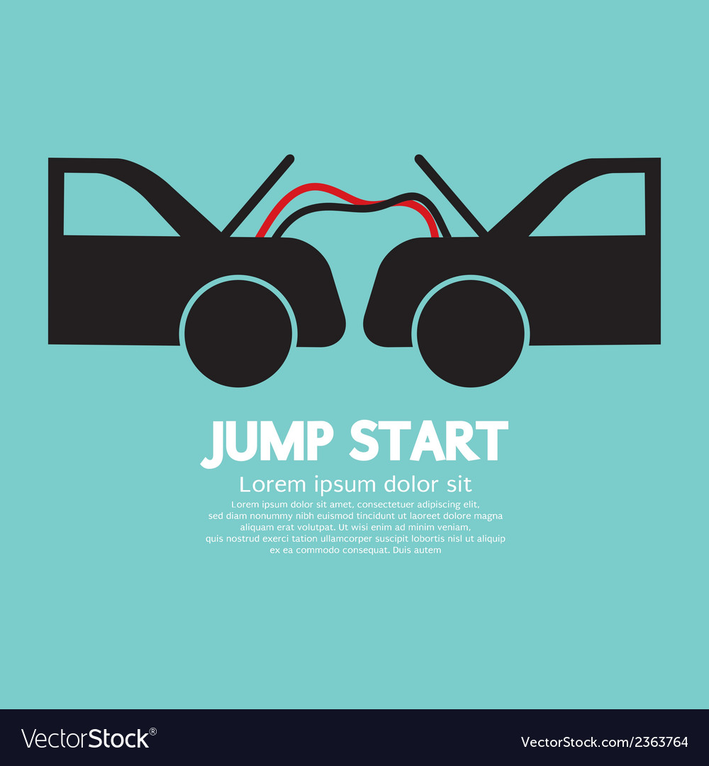 Jump start vector | Price: 1 Credit (USD $1)