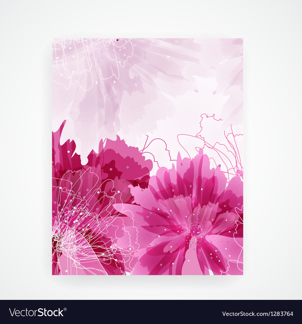 Peony flower vector   Price: 1 Credit (USD $1)