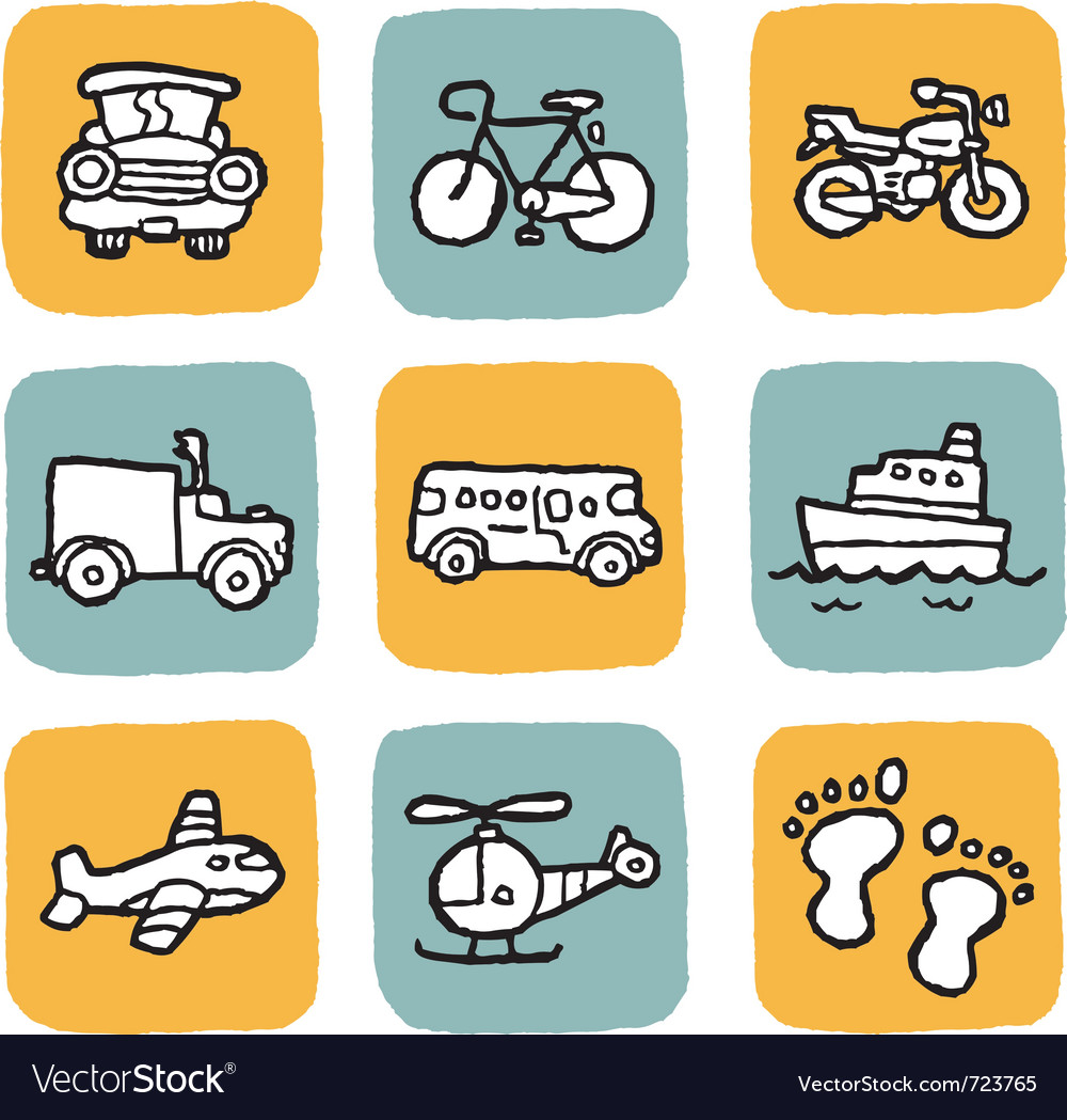 Icon vehicle vector | Price: 1 Credit (USD $1)