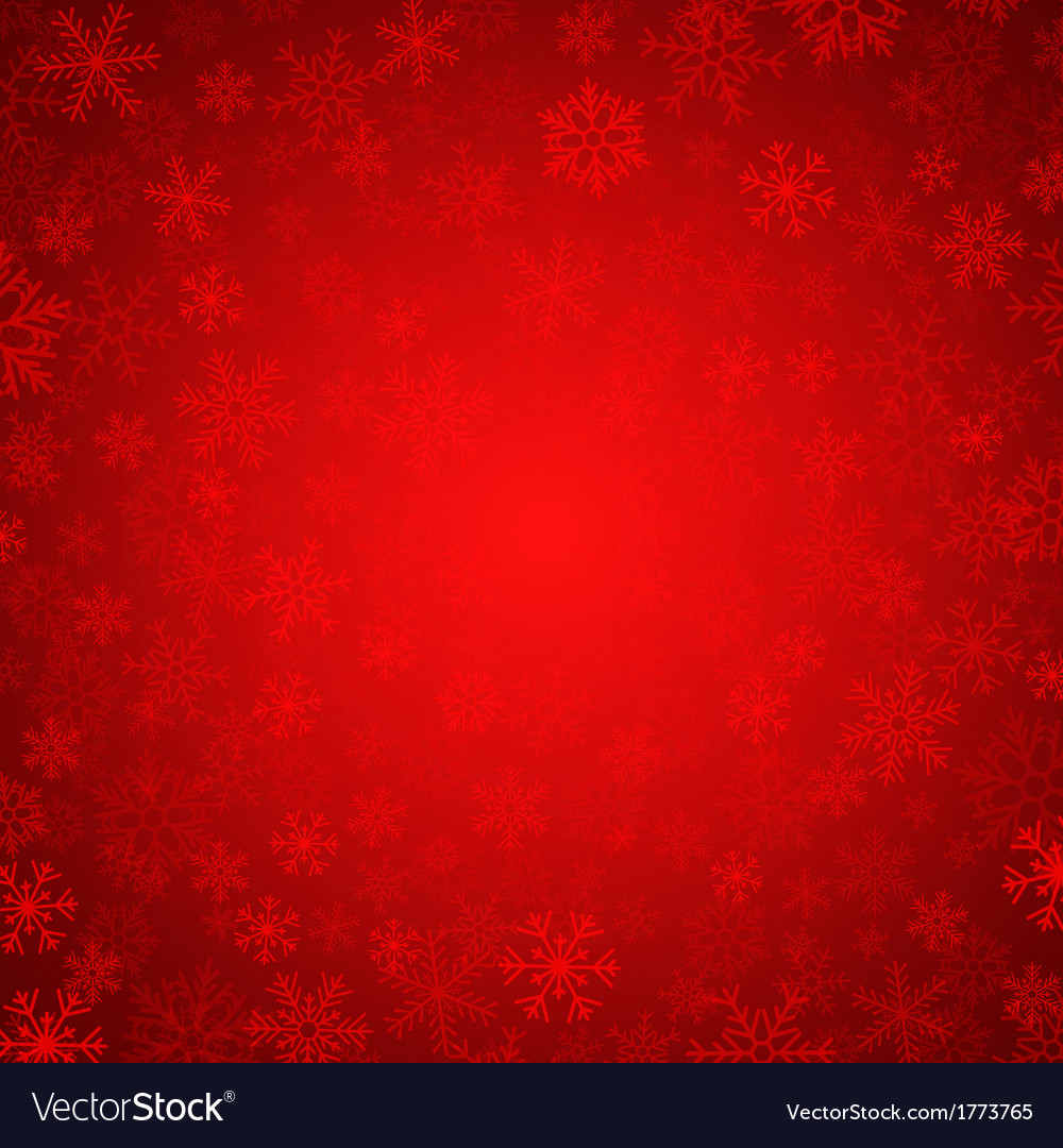 Red snowflakes vector | Price: 1 Credit (USD $1)