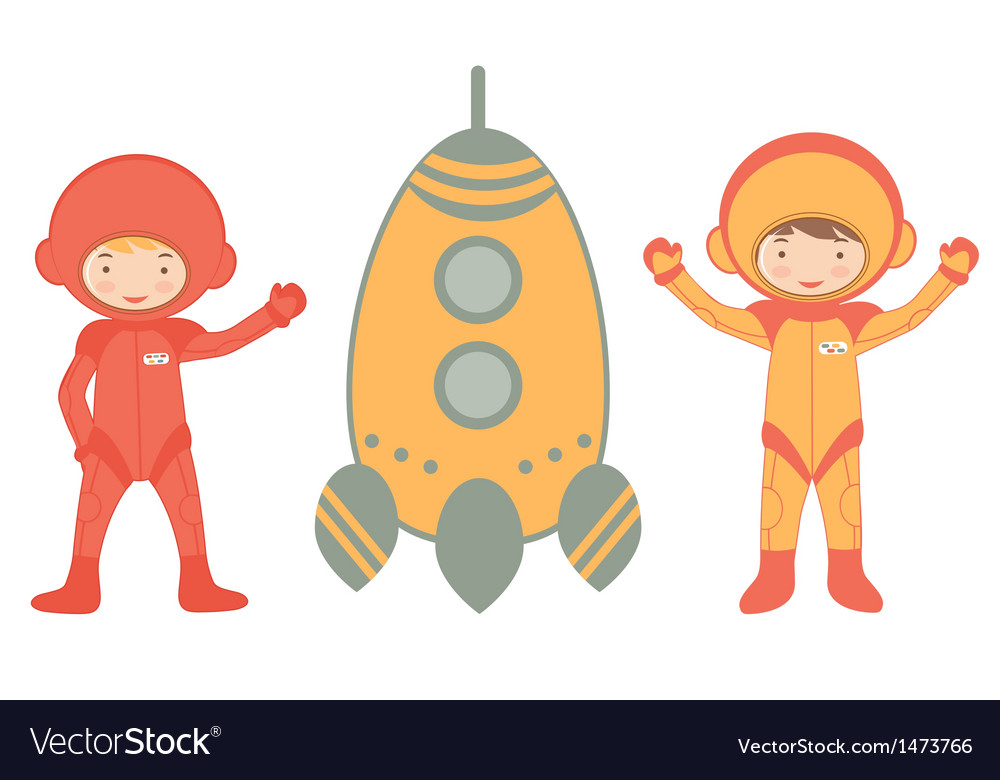 Cosmic kids vector | Price: 1 Credit (USD $1)