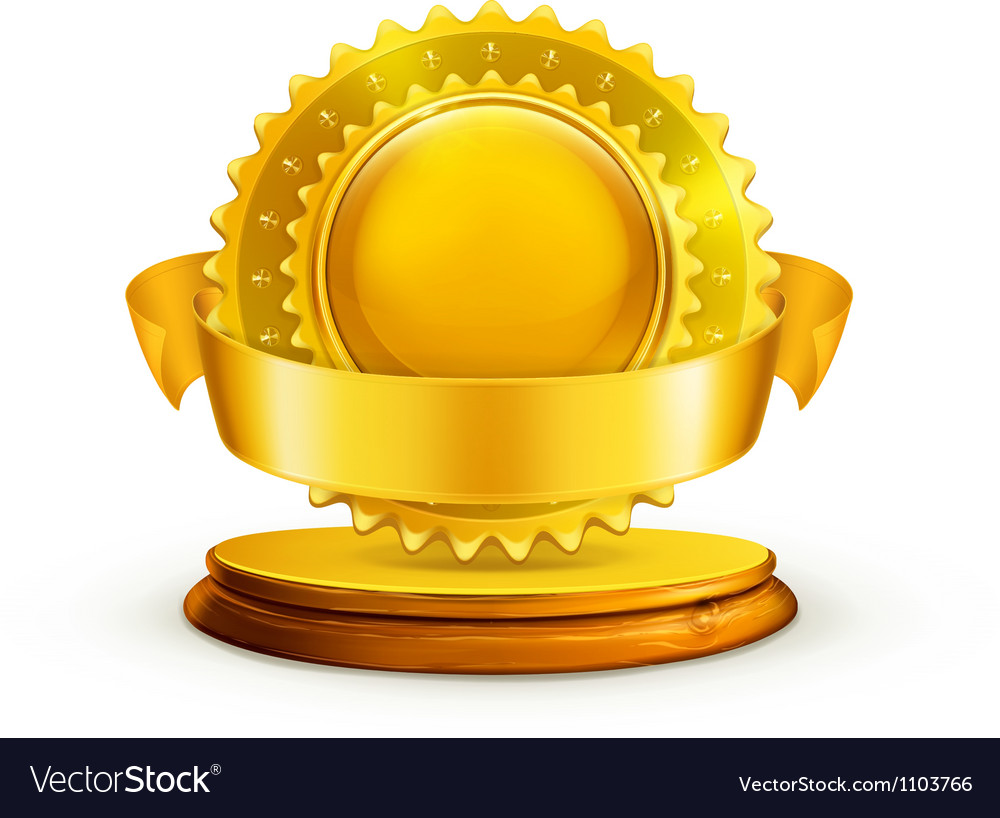 Gold award vector | Price: 1 Credit (USD $1)