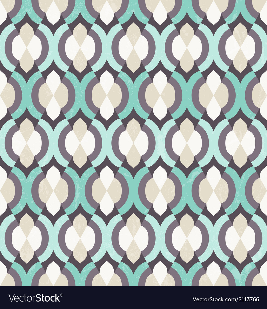 Seamless moroccan pattern vector | Price: 1 Credit (USD $1)