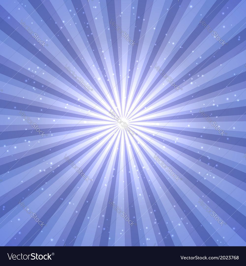 Abstract background with sun rays vector | Price: 1 Credit (USD $1)