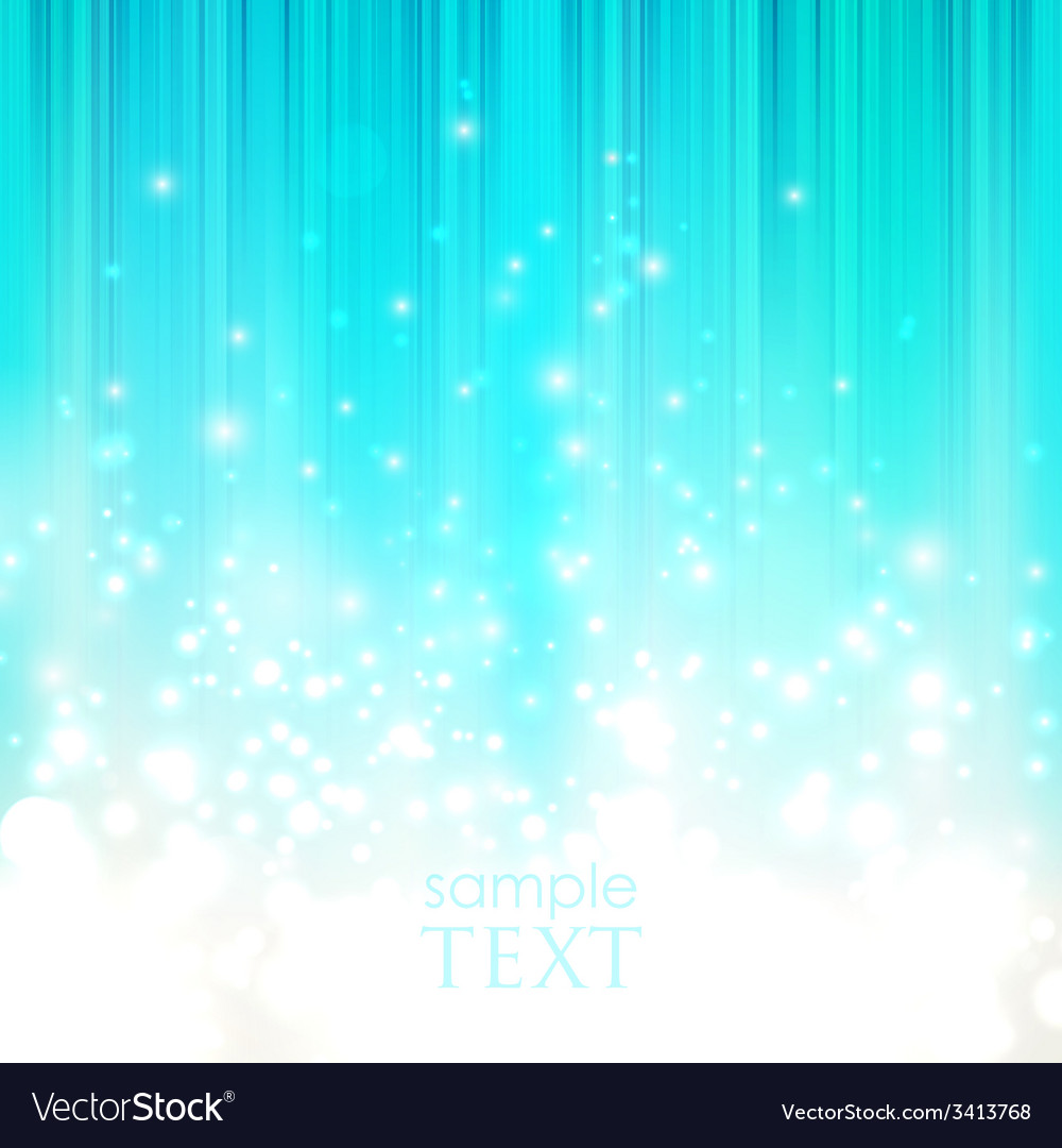 Abstract blue background with sparkles vector | Price: 1 Credit (USD $1)