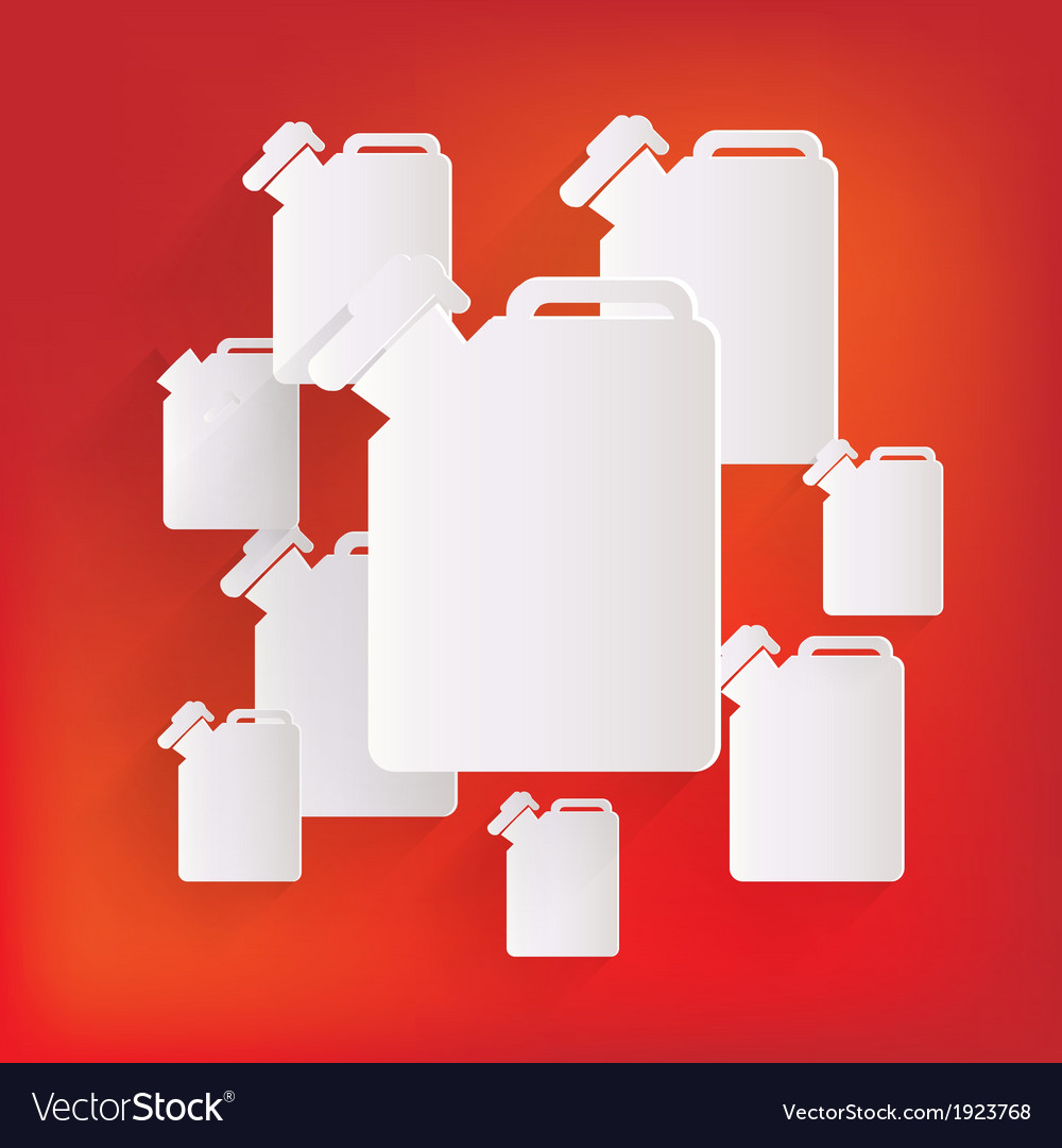 Fuel jerrycan icon vector | Price: 1 Credit (USD $1)