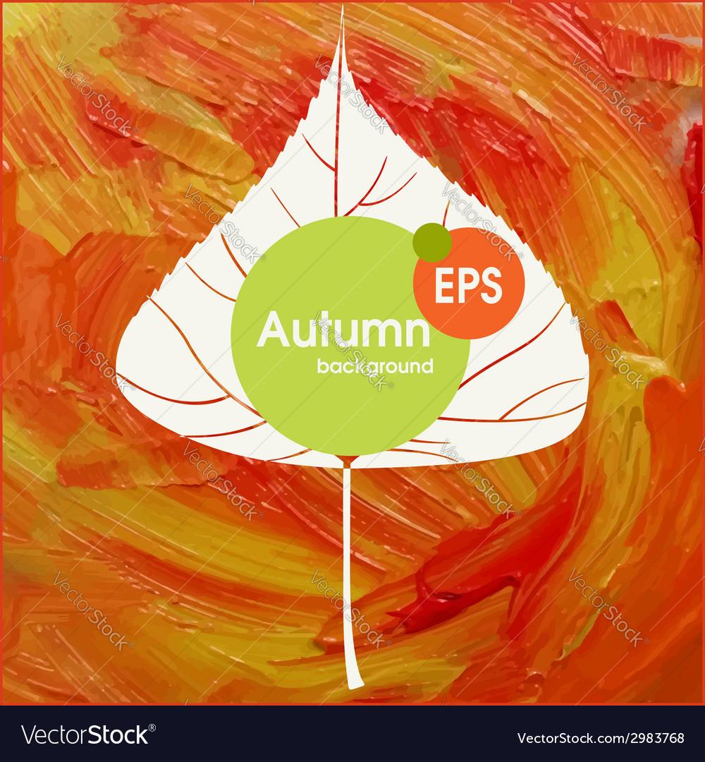 Magic autumn background vector | Price: 1 Credit (USD $1)