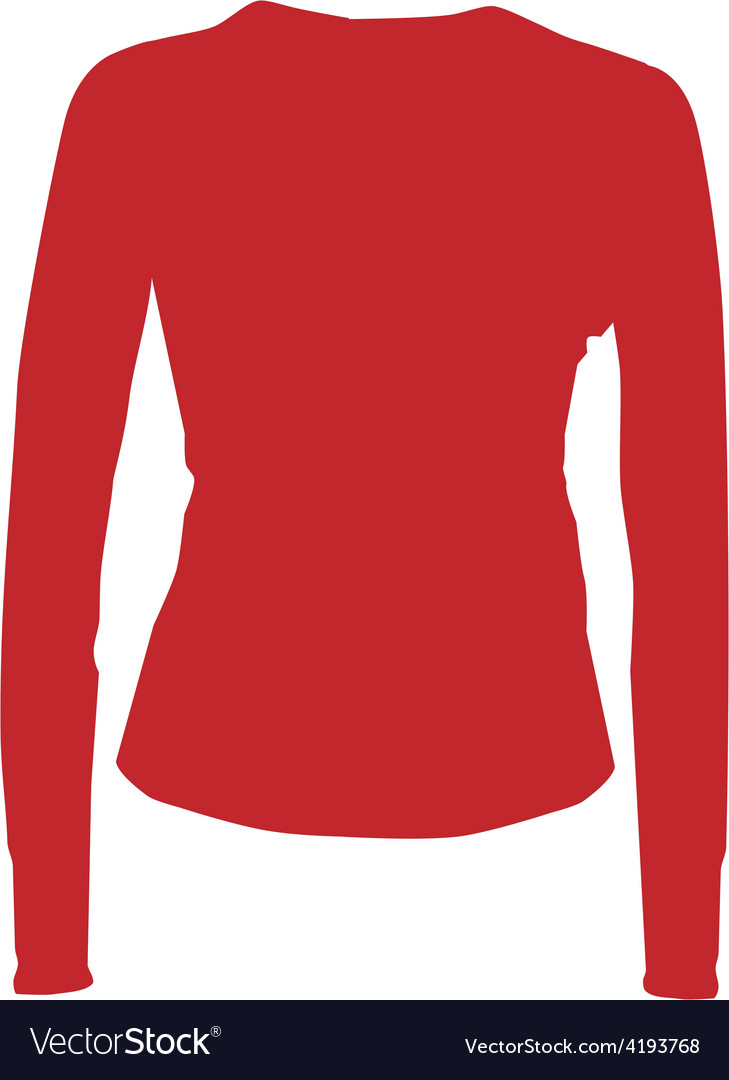 Red sport shirt vector | Price: 1 Credit (USD $1)