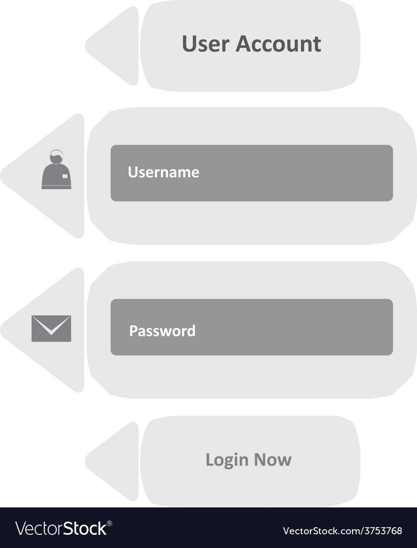 User login 33 vector | Price: 1 Credit (USD $1)