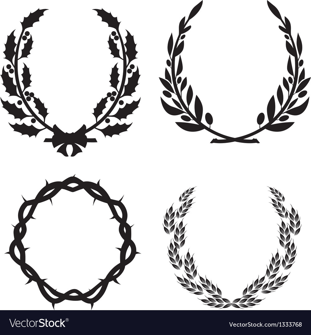 Wreath pack3 vector | Price: 1 Credit (USD $1)