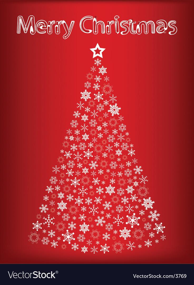 Christmas tree vector | Price: 1 Credit (USD $1)