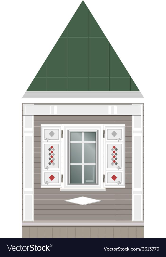 Building facade parts vector | Price: 1 Credit (USD $1)