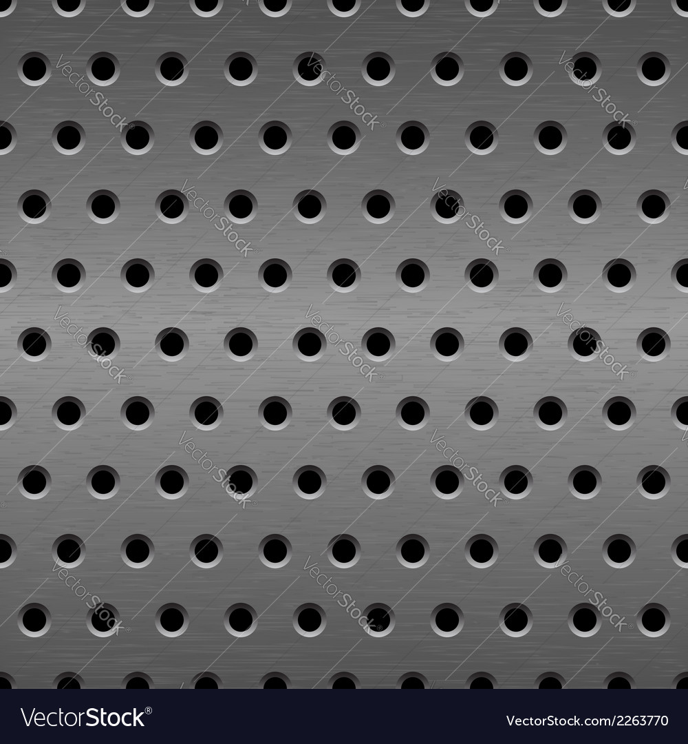Metal seamless background vector | Price: 1 Credit (USD $1)
