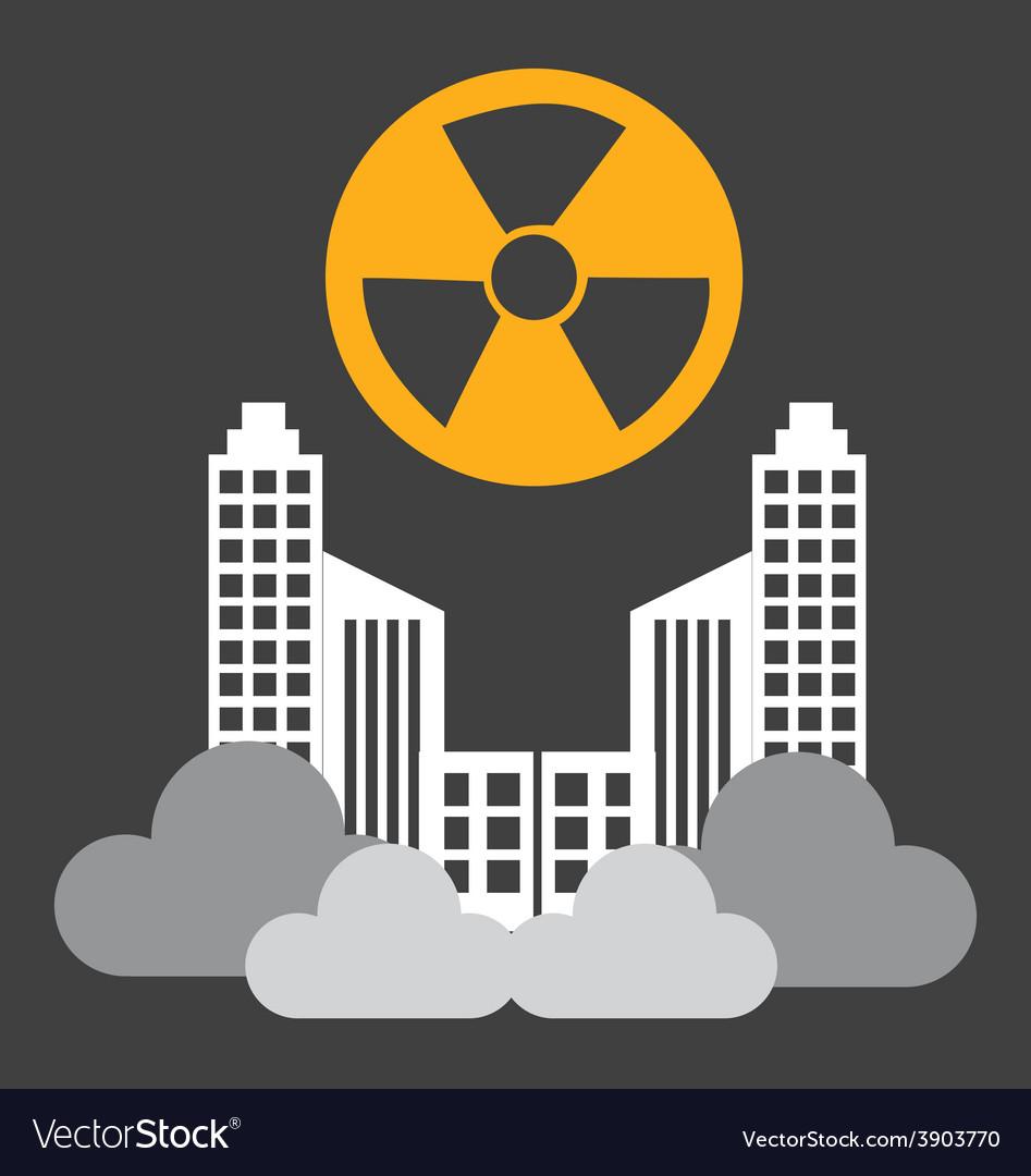 Radioactive contamination vector | Price: 1 Credit (USD $1)