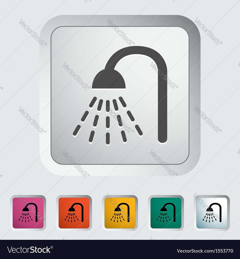 Shower icon vector   Price: 1 Credit (USD $1)