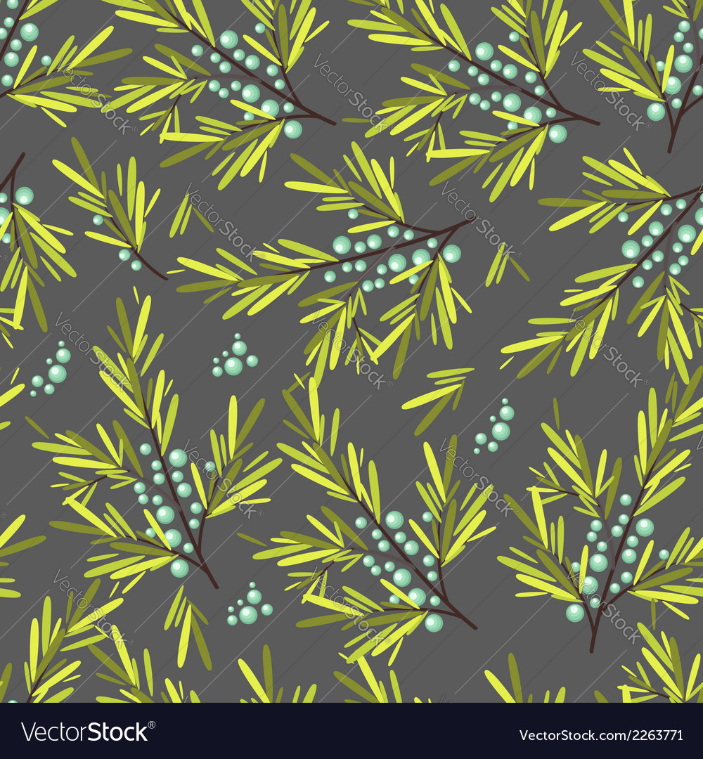Floral fruit and berry colorful seamless pattern vector | Price: 1 Credit (USD $1)
