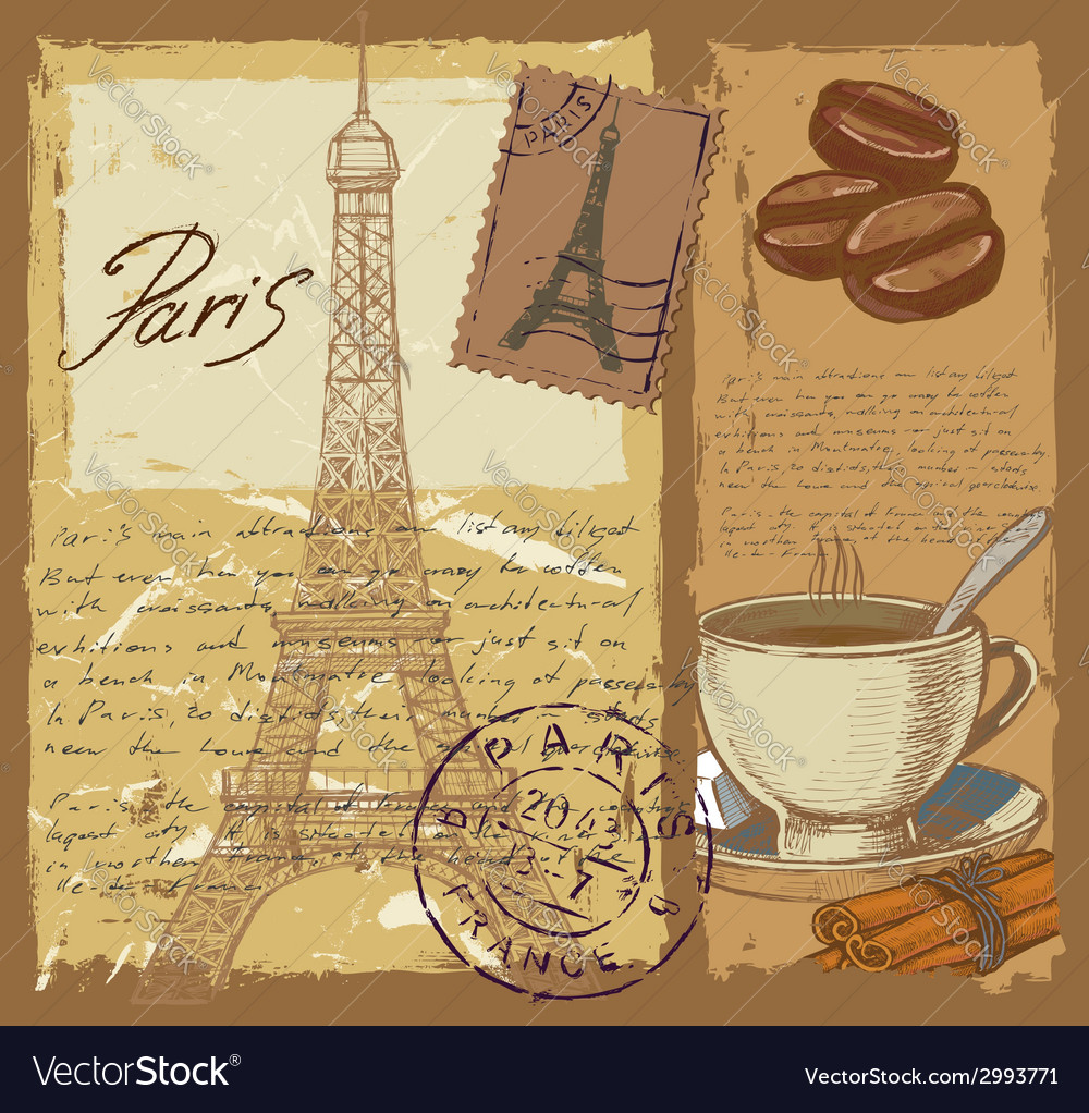 Set of france vector | Price: 1 Credit (USD $1)