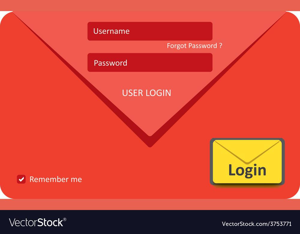 User login 34 vector | Price: 1 Credit (USD $1)