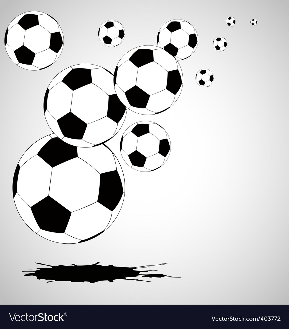 abstract soccer background vector | Price: 1 Credit (USD $1)