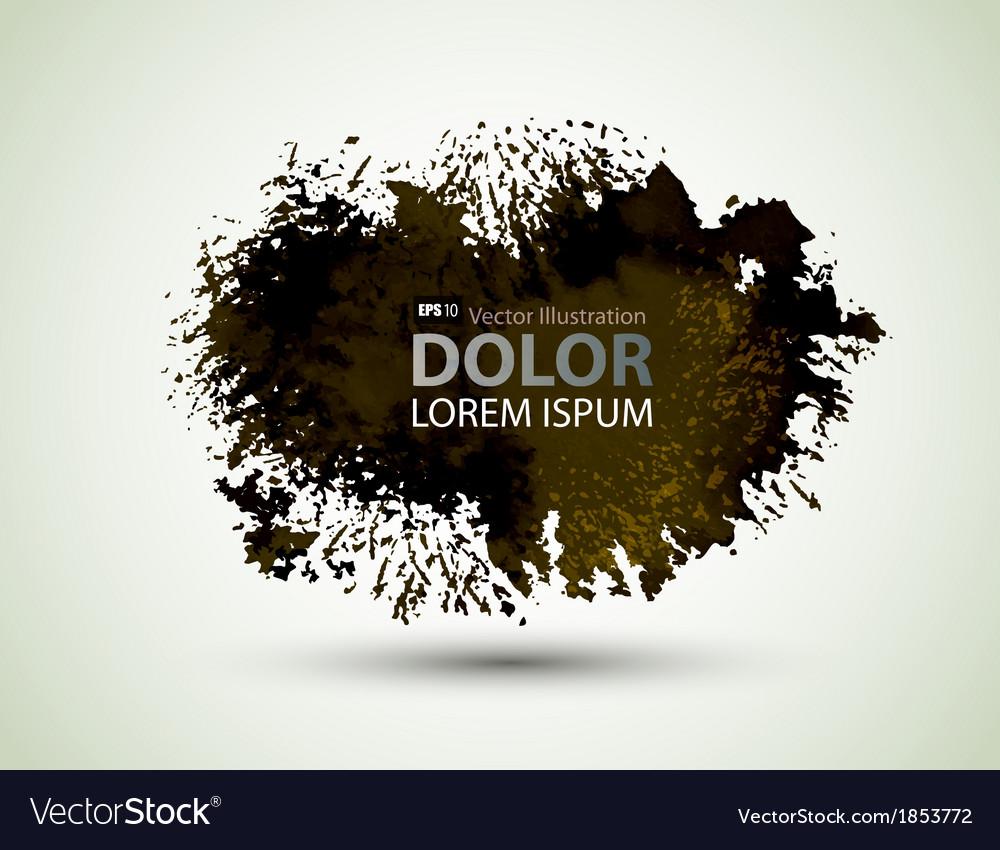 Black blot vector | Price: 1 Credit (USD $1)