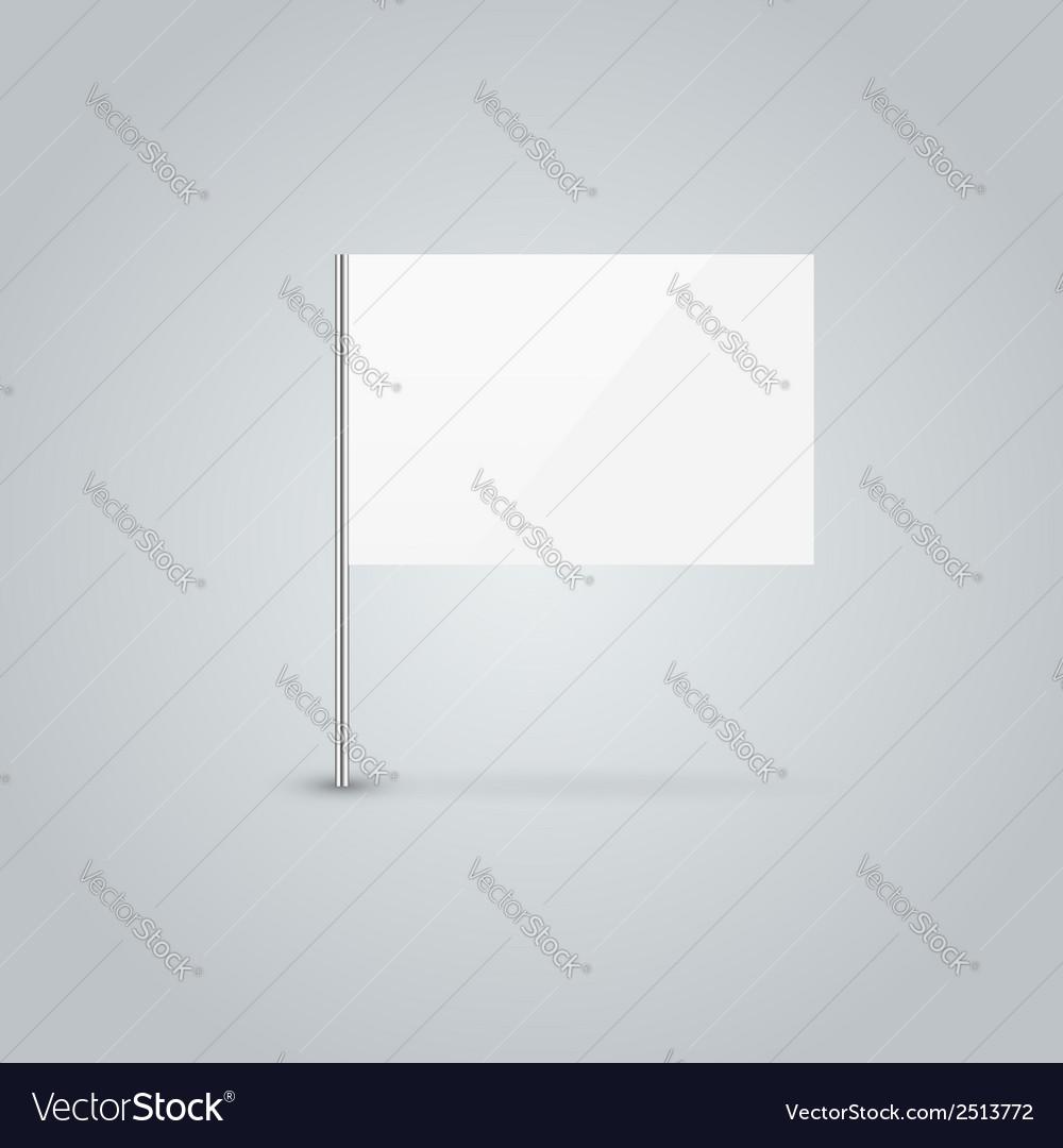 Blank flag vector | Price: 1 Credit (USD $1)