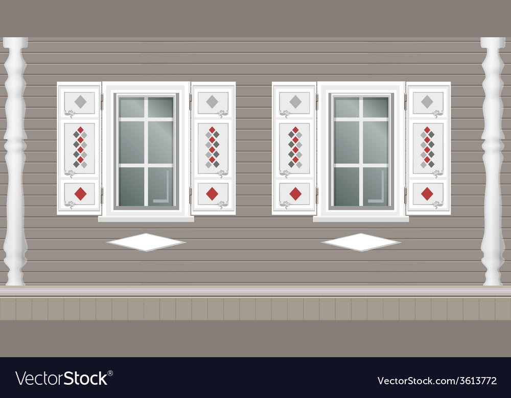 Building facade parts vector | Price: 1 Credit (USD $1)