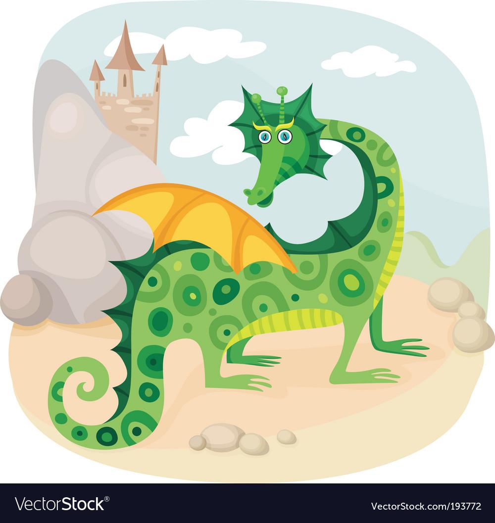 Dragon vector | Price: 3 Credit (USD $3)