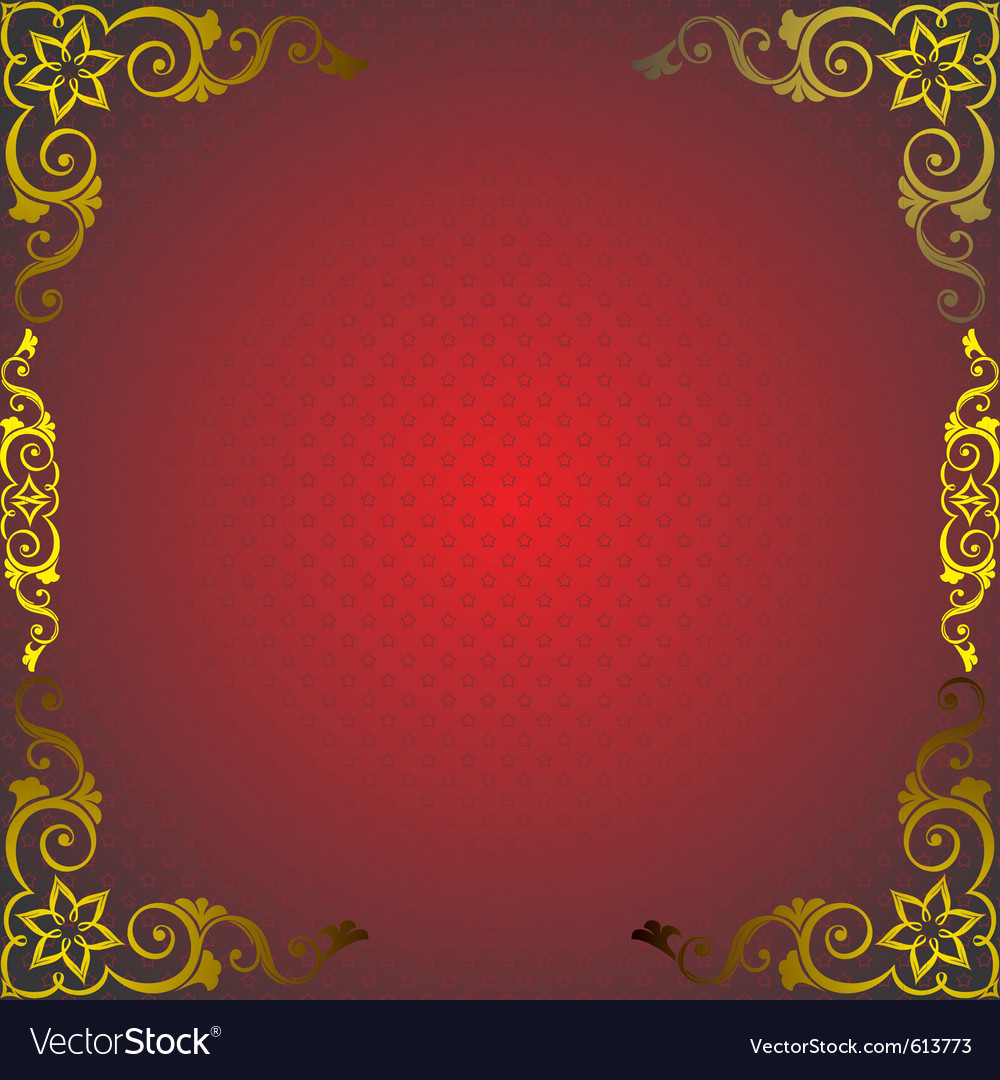 Golden royal frame vector | Price: 1 Credit (USD $1)