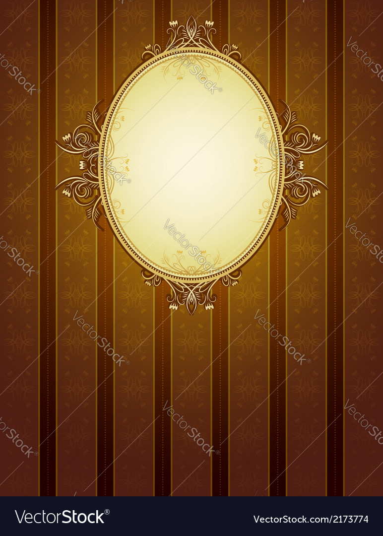 Brown classical background vector | Price: 1 Credit (USD $1)