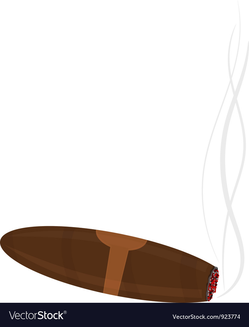 Cigar vector | Price: 1 Credit (USD $1)