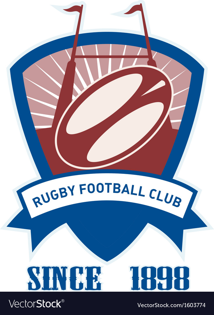Rugby football club vector | Price: 1 Credit (USD $1)